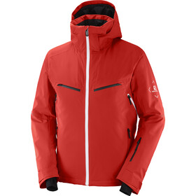 Salomon Brilliant Jacket Men, rood